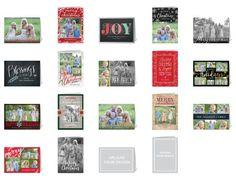 Thank You Cards: Joys Of The Season Mix & Match Stationery Set, Square