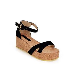 Vogue009 Womens Open Toe Kitten Heels PU Frosted Solid Sandals with Platform, Black, 38 Vogue009 http://www.amazon.com/dp/B00LEC7KN8/ref=cm_sw_r_pi_dp_tImZtb18HSF9X3VG