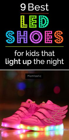 9 Best LED Shoes for Kids - When it's dark, I worry about my kids' visibility on some streets nearby. Thank goodness LED shoes are so on trend right now for kids. I've seen my fair share of some pretty sweet LED shoes for kids at daycare drop off, and it's one thing I'm happy to buy for my sons.