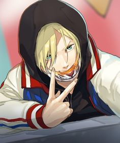 Find images and videos about anime, anime boy and yuri on ice on We Heart It - the app to get lost in what you love. Manga Boy, Anime Manga, Anime Art, Anime Boys, Yuri Plisetsky, Yuri!!! On Ice, Yurio X Otabek, Otaku, Yuri On Ice Comic