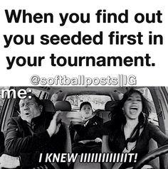 Softball! Hahaha its true!