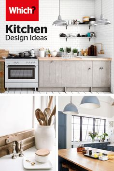 Transform your kitchen with our simple kitchen ideas – Use our guide to help with planning your dream kitchen, choosing the best layout, how much a new kitchen will cost you and what you can do to save money. Kitchen Tiles, Kitchen And Bath, Kitchen Decor, Kitchen Worktops, Open Plan Kitchen Living Room, Kitchen On A Budget, Kitchen Renovation Inspiration, New Kitchen Designs, Contemporary Kitchen Design