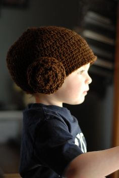 Ravelry  Star Wars Princess Leia Hat Wig pattern by Sara Jean Crochet Hat  Pattern f17962122cd0
