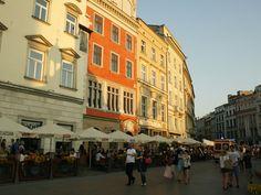 Main Market Square in Krakow, Poland