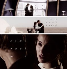 We live in the real world, come back to it - Anakin and Padmè's love story