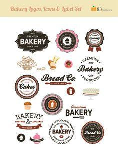 #premium bakery #logos