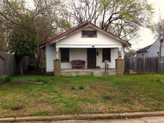 """Pretty Boy Floyd's Tulsa Home: Feb 11, 1932 20 Tulsa Police Dept officers raided 513 E. Young St. in search of Charles Arthur """"Choc"""" Floyd, a.k.a Pretty Boy Floyd. Floyd evaded capture following a shootout near 5th & Harvard. He abandoned his vehicle registered to a Jack Hamilton of Young Street. Jack Hamilton = Pretty Boy Floyd. Woody Guthrie claimed that more people attended Pretty Boy Floyd's funeral than that of any governors' in Oklahoma's history. He was laid to rest in Akins, Okla."""