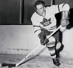 Bill Barilko, the Tragically Hip & the Most Famous Goal in Maple Leafs History - National Hockey League News Ice Hockey Players, Ice Hockey Teams, Mlb Teams, Hockey Stuff, Hockey Games, Stanley Cup Playoffs, Nhl News, Different Sports, Sports Figures