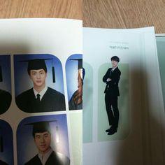 Jin's Graduation Photos ❤ #BTS #방탄소년단 Im In Love, Love Of My Life, Seokjin, Hoseok, Qualities In A Man, Bts Predebut, Graduation Photos, Worldwide Handsome, Korean Men