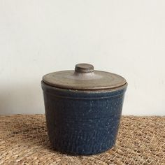 black mountain / box / pottery / ceramics
