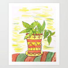 The+Plant+Art+Print+by+Mindyrdesigns+-+$13.52
