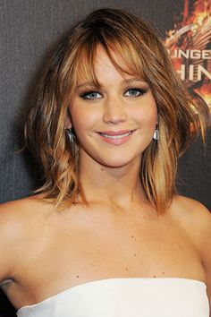 The 10 Prettiest Celeb-Inspired Long Bobs - Jennifer Lawrence