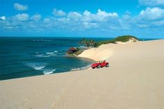 Dunas de Genipabu, Natal - RN Brasil. Isn't this gorgeous? I was there and rode the buggy