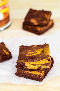 Cheesecake Recipes : DIY Sallys Baking Addiction skinny pumpkin cheesecake brownies Cheesecake Recipes