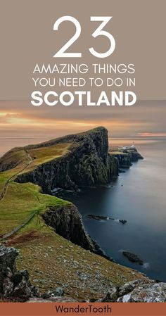 The best places to visit in Scotland, UK. Scotland Travel Tips and everything you need to know about this magical region. | What to do in Scotland | Best things to do in Scotland | Scotland castles | Scotland highlights | Edinburgh | Scotland Travel Itine