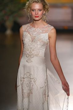See more Claire Pettibone wedding dresses from her fall/winter 2016 collection, The Gilded Age, on My Hotel Wedding: http://www.myhotelwedding.com/blog/2015/10/16/claire-pettibone-wedding-dresses-fallwinter-2016/