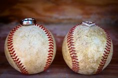 Baseball Engagement Photo but just my ring cause you know... It's an engagement photo, not a wedding photo