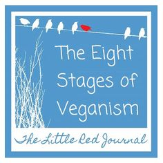 The Eight Stages of Veganism | The Little Red Journal | #vegan #veganism #funny #health