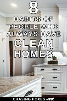 Check out these home cleaning tips that'll help you maintain a clean house. These cleaning tips and tricks will be great for your home and cleaning routine! #ChasingFoxes #CleaningHacks #CleanHome