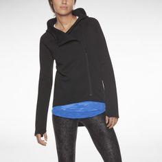 Nike Tech Fleece Cape Women's Hoodie.  Cute longer in the rear hoodie from nike.  Casual jacket. $110