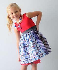 Loving this Red Team USA Amy Dress - Infant, Toddler & Girls on #zulily! #zulilyfinds