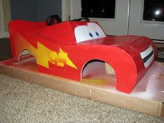 """For Halloween this year, my youngest son decided to be Lightning McQueen from Pixar's """"Cars"""" movie.  Here are a few of the details of the co..."""