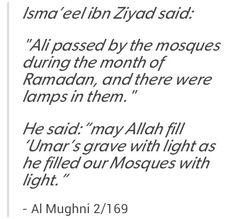 Umar & Ali Radiyallahu 'Anhouma