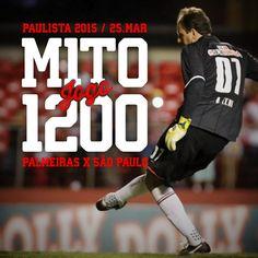 25.03.2015 - Rogério Ceni completa 1200 jogos pelo São Paulo