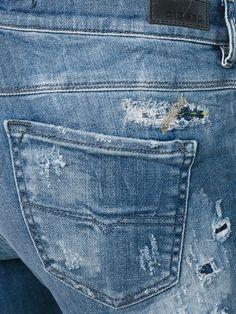 Diesel Calça jeans reta