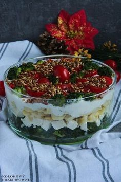 Veggie Recipes, Salad Recipes, Vegetarian Recipes, Cooking Recipes, Healthy Recipes, Tortellini, Tasty, Yummy Food, Side Salad