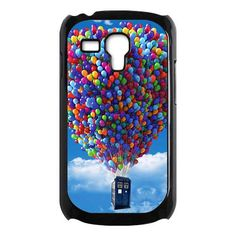 Tardis doctor who fly with up baloons samsung galaxy s3 mini caseUS $16.89   This is awesome! Two of my favorite things (Disney and Doctor Who)
