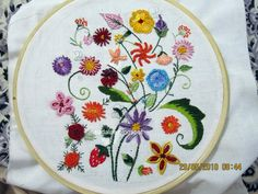 EMBROIDERY STITCHES VIDEOS - EMBROIDERY DESIGNS
