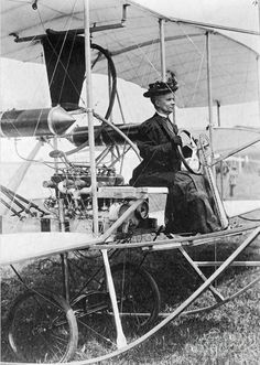 E. Lillian Todd - the first woman to design and build her own aircraft. 1906.