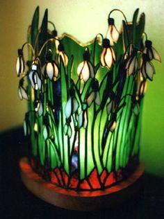 Snowdrop Lamp