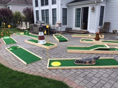 The Best Portable Mini Golf Course Rental on Long Island! Our 9 Hole Mini Golf Course is available for schools, camps, corporate events CALL: