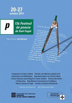 XIII Festival de poesia de Sant Cugat del Vallès (octubre 2013)
