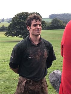 Henry Cavill and his Team  at the Commando Challenge 10k run  for the Royal Marines Charitable Trust