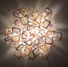 Neue Akzente im Frühstücksraum durch moderne Lampen #Slamp Candle Holders, Candles, Interior Design, Abstract, Artwork, Contemporary Lamps, Nest Design, Summary, Work Of Art