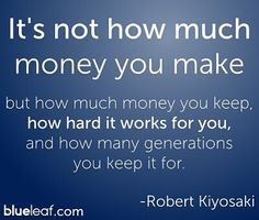 Make your money work for you and grow over time. Don't waste it on things that don't pay you back. Your future depends it. #SavvyMomsUnite