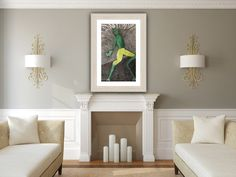 Anthropomorphic - Frog - Trending Now - Mid century modern wall decor - Motivational wall art - Farmhouse decor - Apartment decor - Art. Motivational Wall Art, Acrylic Painting Techniques, Autumn Art, Modern Wall Decor, Learn To Paint, Painting Patterns, Abstract Expressionism, Abstract Art, Fine Art Photography