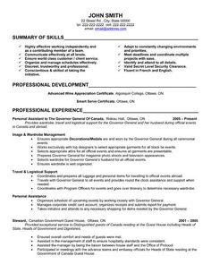 Resume, Secretary and Templates on Pinterest