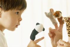 How Does Puppet Play Promote Development? While your child has fun with finger and hand puppets, there is important language, cognitive, and social/emotional development going on!  (Everyday Life)