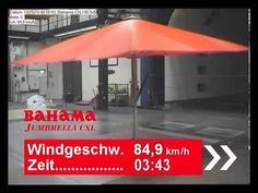 Darauf solltet ihr achten, wenn es windig ist und ihr eure Sonnenschirme aufgespannt habt.