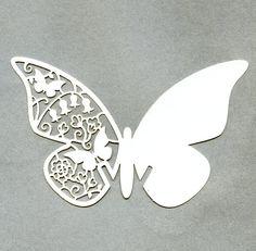 席札10枚入バタフライパールホワイト蝶結婚式ウェディングパーティーグッズ                                                                                                                                                                                 もっと見る
