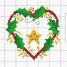 Free Holiday Cross Stitch Charts