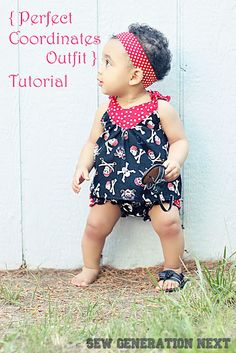 Generation Next: The Perfect Coordinates Outfit Tutorial - free 6-9months pattern