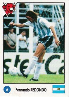 Fernando Redondo of Argentina in 1992.
