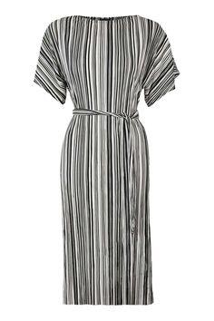 Pleated Midi Dress - Dresses - Clothing