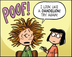 Kaboom Peanuts Series 2, #6 - Patty is going to a fancy banquet and need a fancy hair-do