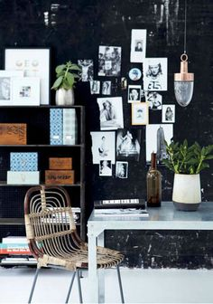 Love the #copper #lamp! | Danish #interiors brand @Allison House! Doctor.